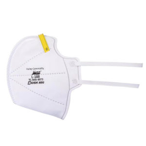N95 NIOSH CDC Certified Fold Style Mask Harley